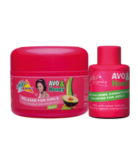 Avo & Honey Relaxer Neutralising Shampoo 60ml